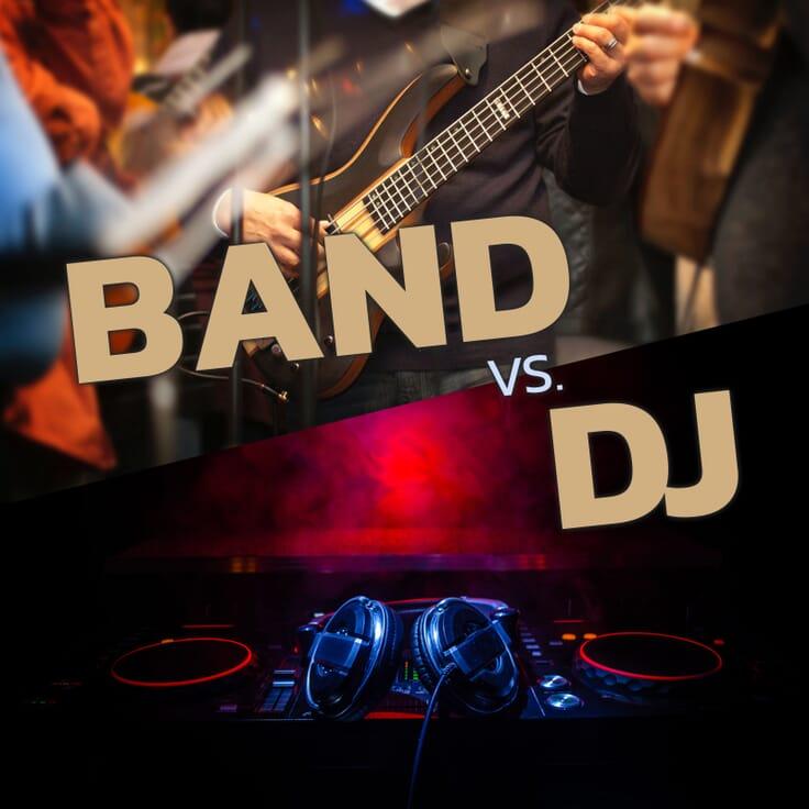 Vorschaubild Blogbeitrag Hochzeit Band vs. DJ